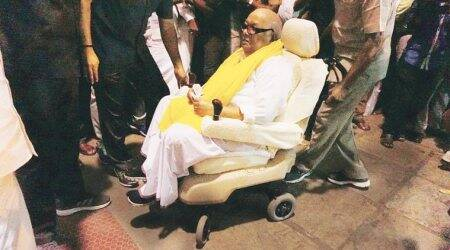 DMK chief Karunanidhi admitted to hospital, will undergo minor procedure