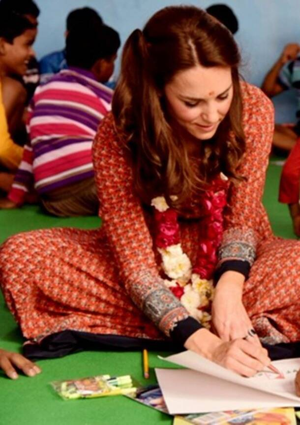 Get your hands on Kate Middleton's India wardrobe
