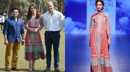 Kate's Anita Dongre dress leads to website crash