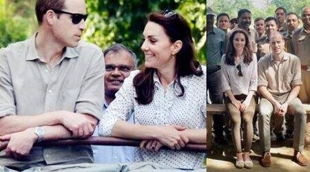 Royal couple Kate and Prince William go on jungle safari at Kaziranga