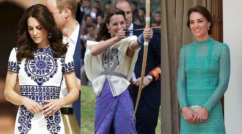 ac772b422c80 During the seven-day royal visit to India and Bhutan in April 2016, the  Duchess of Cambridge's choice was keenly followed by the national and  international ...