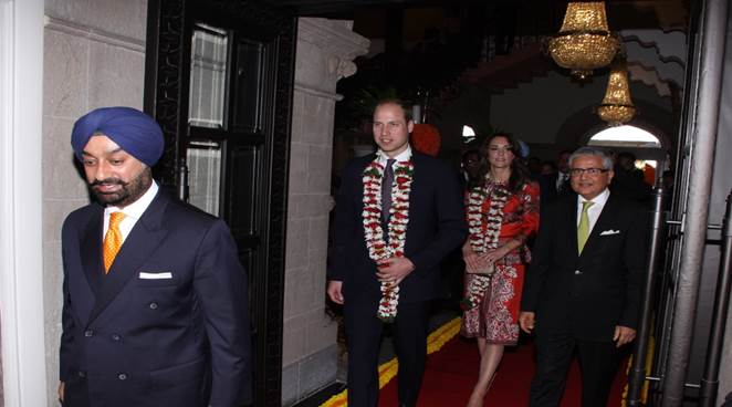Prince William, Kate Middleton, royal couple, royal couple visit India, royal couple Taj hotel