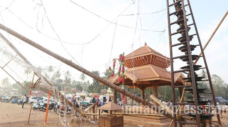 kerala, kerala temple, kerala fire, kerala temple fire, kollam temple fire, Puttingal Devi temple fire, Paravur temple fire, kerala temple fire updates, india news, kerala news, latest news