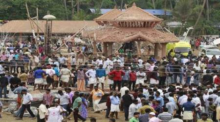 Kollam fire: Puttingal Devi temple sticks to tradition, re-opens on 7thday