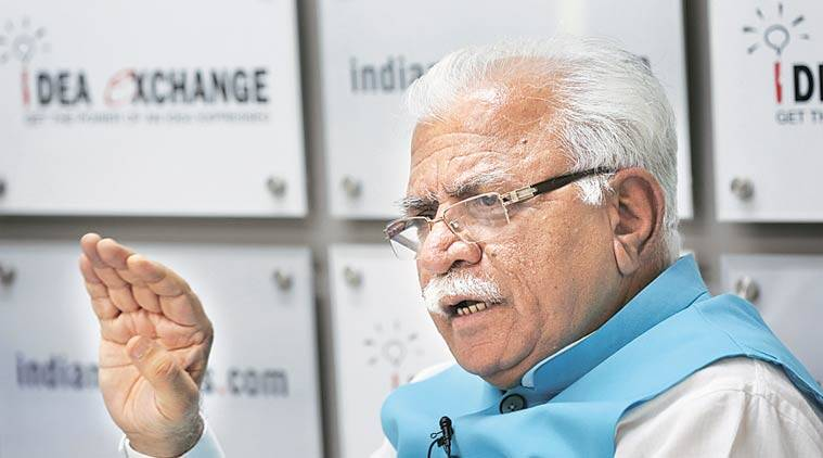 Manohar Lal Khattar, Khattar, Haryana CM, Haryana Chief Minister Manohar Lal Khattar, Haryana Road projects, Haryana Road, Road projects in Haryana, Gurgaon, Gurgaon roads, Gurgaon Road projects, Delhi transport, india news