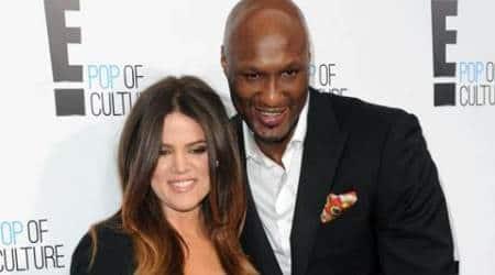 Khloe Kardashian shares video with Lamar Odom onSnapchat