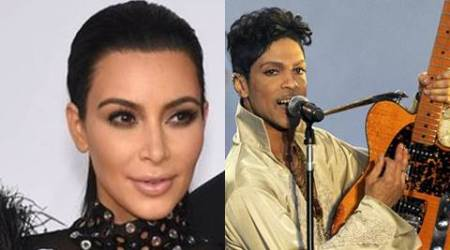 Kim Kardashian West 'froze' on stage with Prince
