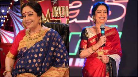 Kirron Kher sports leaner look in India's Got Talent, see pics
