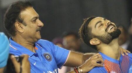 india coach, team india coach, ravi shastri, virat kohli, coach ravi shastri, skipper virat kohli, virender sehwag, richard pybus, tom moody, cricket news, cricket, indian express