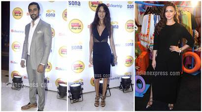 Kunal Kapoor, Lisa Haydon, Sana Khan, Chunkey Pandey, Kanika Kapoor, magic bus charity event, Entertainment news