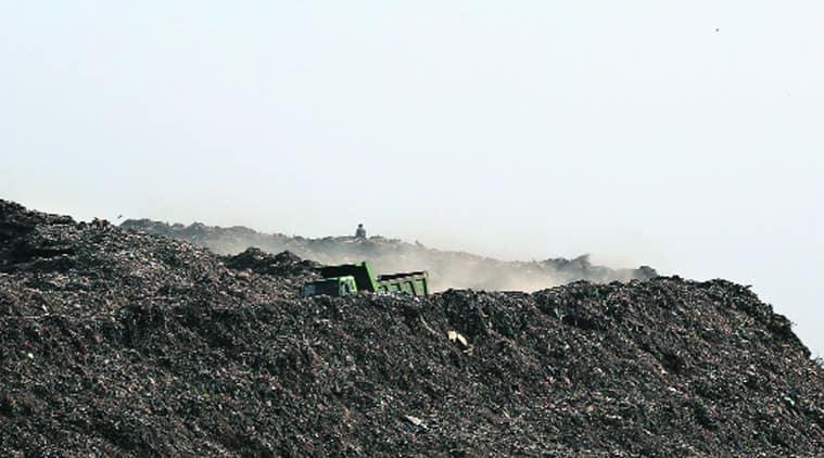 Ghazipur landfill, Ghazipur landfill fire, lnadfill fire, delhi landfill fire, delhi news, EDMC,
