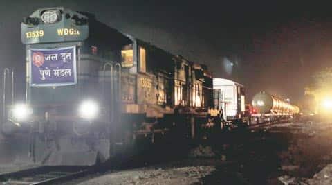 Latur, Water train, Water train Latur , Latur Water train, water train Maharashtra, Mahashtra news, India news