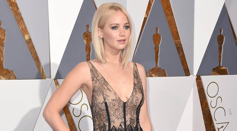 Jennifer Lawrence, Jennifer Lawrence actor, Jennifer Lawrence movies, Jennifer Lawrence actress, Jennifer Lawrence news, donald trump, hillary clinton, hillary donald, Jennifer Lawrence donald trump, entertainment news, indian express, indian express news