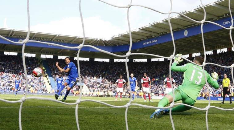 Leicester City vs West Ham, Leicester City, Leicester City draw, Leicester draw, Premier League, Jamie Vardy, Leonardo Ulloa, Leonardo Ulloa penalty, Leicester Penalty, Football