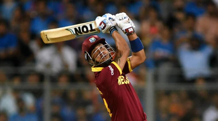 Lendl Simmons smashed an unbeaten 82 off 51 balls and featured in two strong partnerships with opener Johnson Charles (52) and Andre Russell (43 not out). (Source: Kevin DSouza)