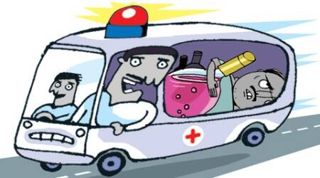 Beating liquor ban in Bihar with ambulance and milk containers