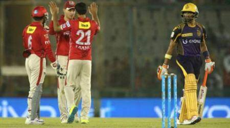 KXIP vs KKR: KKR beat KXIP by 6 wickets