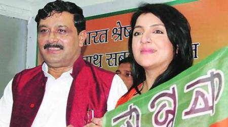West Bengal assembly elections, Locket chaterjee, BJP Locket Chaterjee, Locket chaterjee threatens, Locket chatterjee booth officer, India news