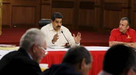 Maduro, Venezuela, Venezuela president, Nicolas Maduro, Venezuela president Nicolas Maduro, Emergency, Venezuela emergency, emergency in Venezuela, OPEC country, Dilma Roussseffm Brazil, World news, international news, indian express news