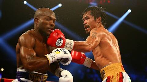 Manny Pacquiao beats Timothy Bradley in farewell fight