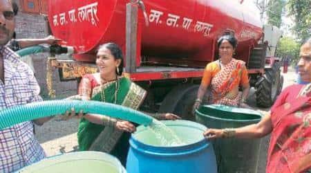 Marathwada drought, Latur, Marathwada, latur water crisis, latur city, marathwada drought, water train, jaldoot express, jaldoott express reaches latur, water train reaches latur