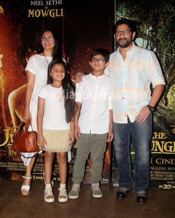 Maria Goretti, Arshad Warsi, The Jungle Book premiere, The Jungle Book Indian premiere photos