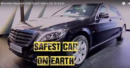 Mercedes-Maybach S600 Guard: Safest Car OnEarth