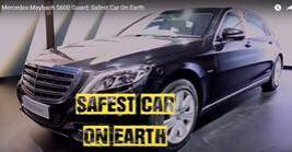 Mercedes-Maybach S600 Guard: Safest Car On Earth