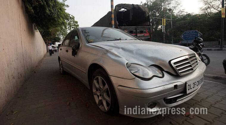 mercedes hit and run case, delhi hit and run case, accident by mercedes, delhi IT professional accident, IT professional accident, juvenile mercedes hit and run case, juvenile justice board, delhi news, india news