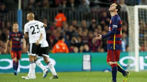 Barcelona crisis deepen after 2-1 loss to Valencia