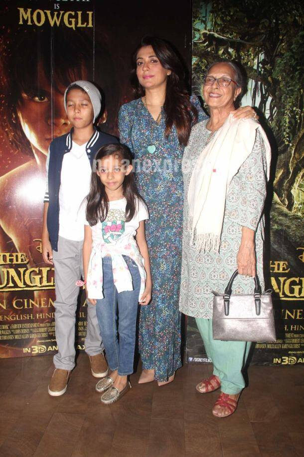 Thr Jungle Book, The Jungle book premiere, Mini Mathur, The Jungle Book premiere photos