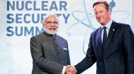 PM Modi meets David Cameron in US, talks focus on defence, Make in India