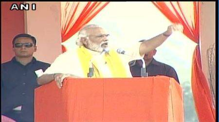 PM Modi: TMC for 'terror, maut and corruption'