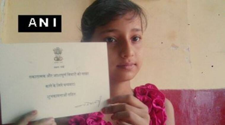 narendra modi, narendra modi letter, narendra modi girl letter, modi girl letter, aditi modi letter, 10 year old girl modi letter, india news