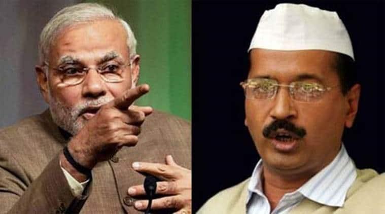 Kejriwal and Modi