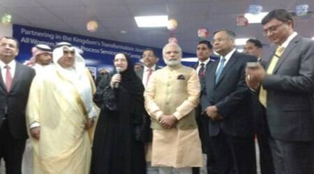 In Riyadh, PM Modi visits TCS' all-women IT centre
