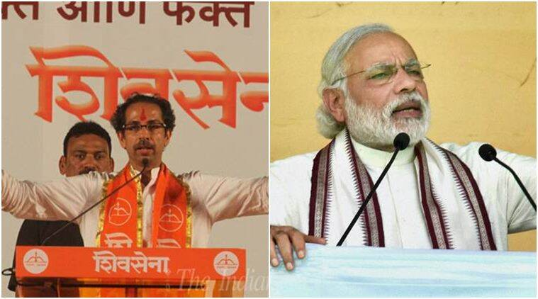 Shiv Sena, Sena, Narendra Modi, Prime Minister Narendra Modi, PM Modi, Modi, Marathwada, Marathwada drought, Marathwada water crisis, Shiv Sena on PM Modi, JNU, JNU students, Kanhaiya Kumar, India news
