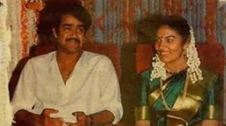 Malayalam superstar Mohanlal, Mohanlal, actor Mohanlal, Mohanlal 28th wedding anniversary, Mohanlal wife, Mohanlal wife name, Mohanlal news, entertainment news