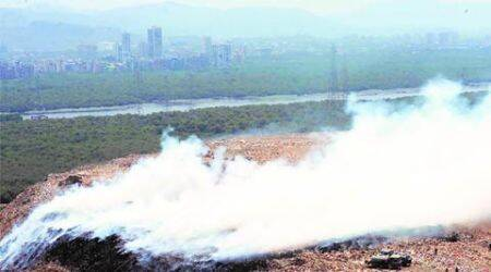 Fresh fire breaks out Mulund dumping ground