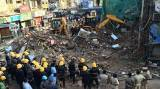 Six dead in Mumbai building collapse, several trapped