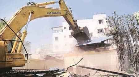 bombay high court, bombay HC, mumabi illegal construction, article 14, public interest litigation, , navi mumbai, floor space index, indian express mumbai