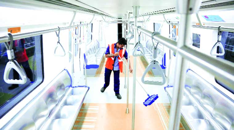mumbai metro, MMRDA, Mumbai Metropolitan Region Development Authority, Metro 7, second stage construction, metro 7 construction, mumbai news, india news, indian express news