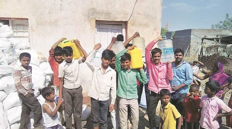 mumbai, mumbai hyper local, marathwada village, waterless in marathwada, maharashtra water crisis, water problem in maharashtra, indian express mumbai