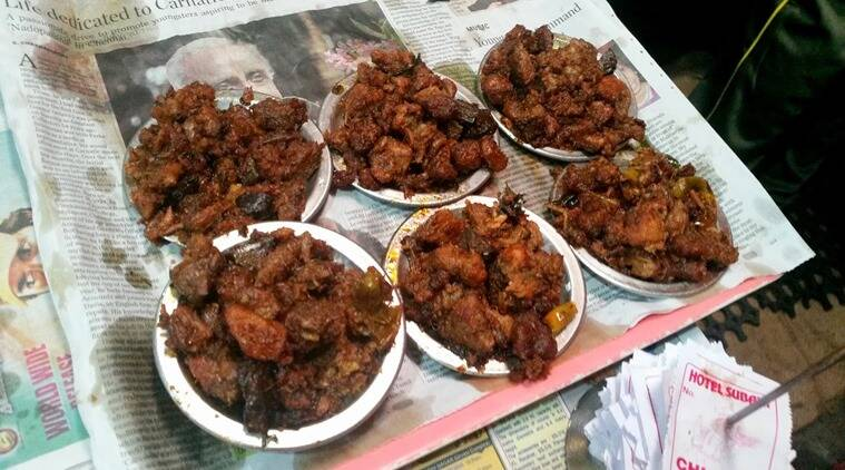 Mutton Kabab at Hotel Subhani. (Photo: foodaholix.in)