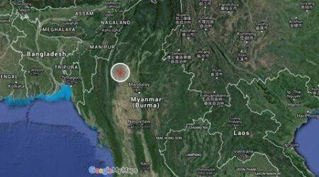 Myanmar earthquake rattles eastern India