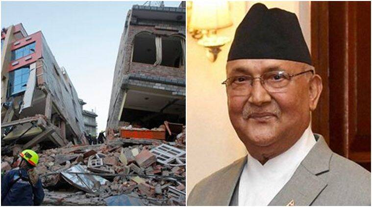 Nepal earthquake, Nepal qUAKE, qUAKE, quake in Nepal, Nepal quake annivarsary, One year after nepal quake, Nepal PM < KP Oli, Nepal PM KP Oli, Foundation stone, Bidhya Devi Bhandari, Nepal government, Sushil Koirala, world news
