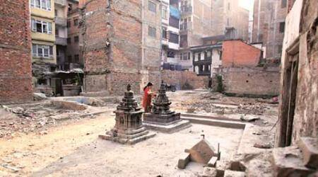Only one temple restored since Nepalearthquake