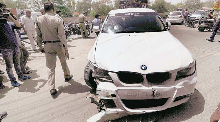 Noida, Noida accident, Noida BMW accident, Noida car accident, BMW accident Noida, India news
