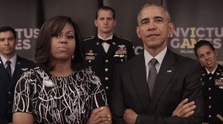 invictus games, barack obama, queen elizabeth, prince harry, michelle obama, obama video, obama invictus games, invictus games promo video