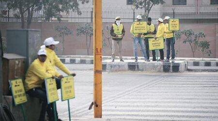 Odd-Even phase II: Students spread the word with hit-and-runskit